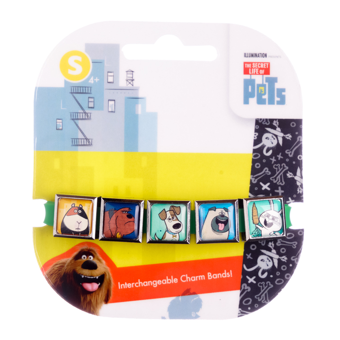 Secret Life of Pets 5 Charm Band #2